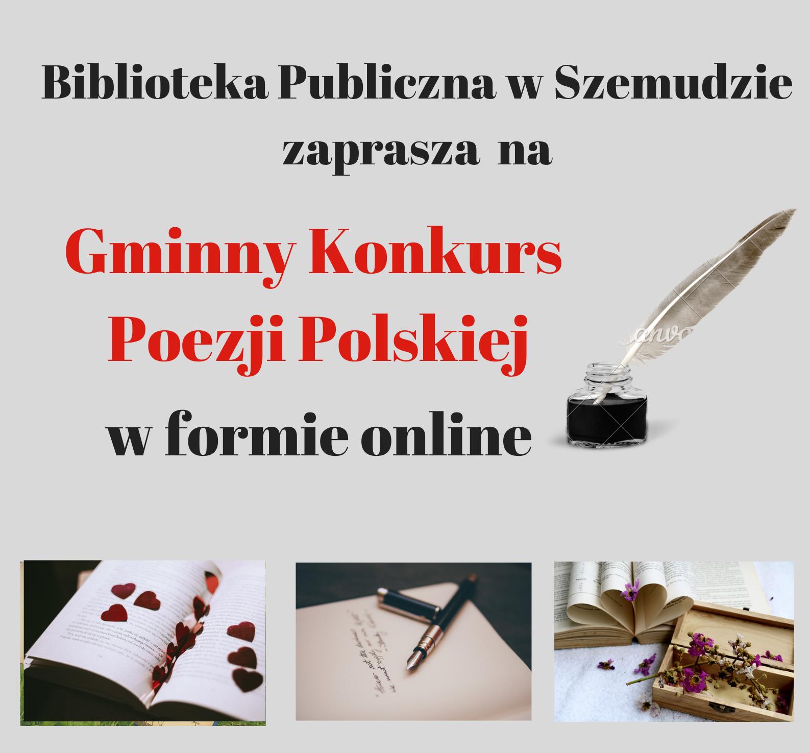 Kamila Czoska i Fabian Okrój Laureatami Gminnego Konkursu Poezji i Prozy Polski